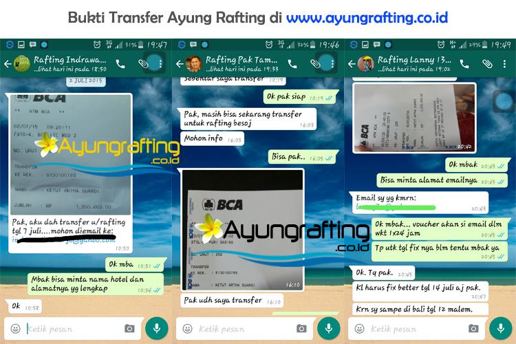 bukti-transfer-ayung-rafting-bali